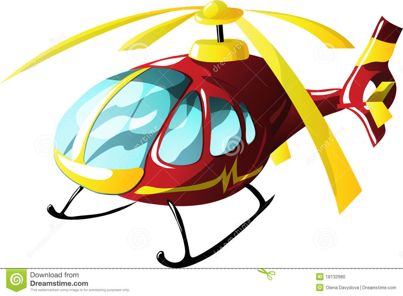 More similar stock images of ` Cartoon ambulance helicopter `