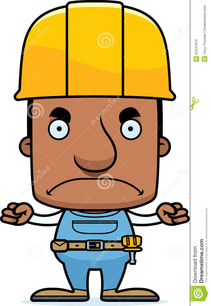 angry worker clipart - photo #15