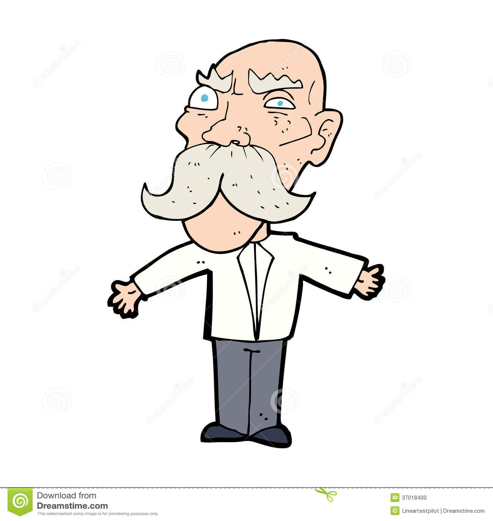 Angry Old Man Drawing Cartoon Angry Old Man ...