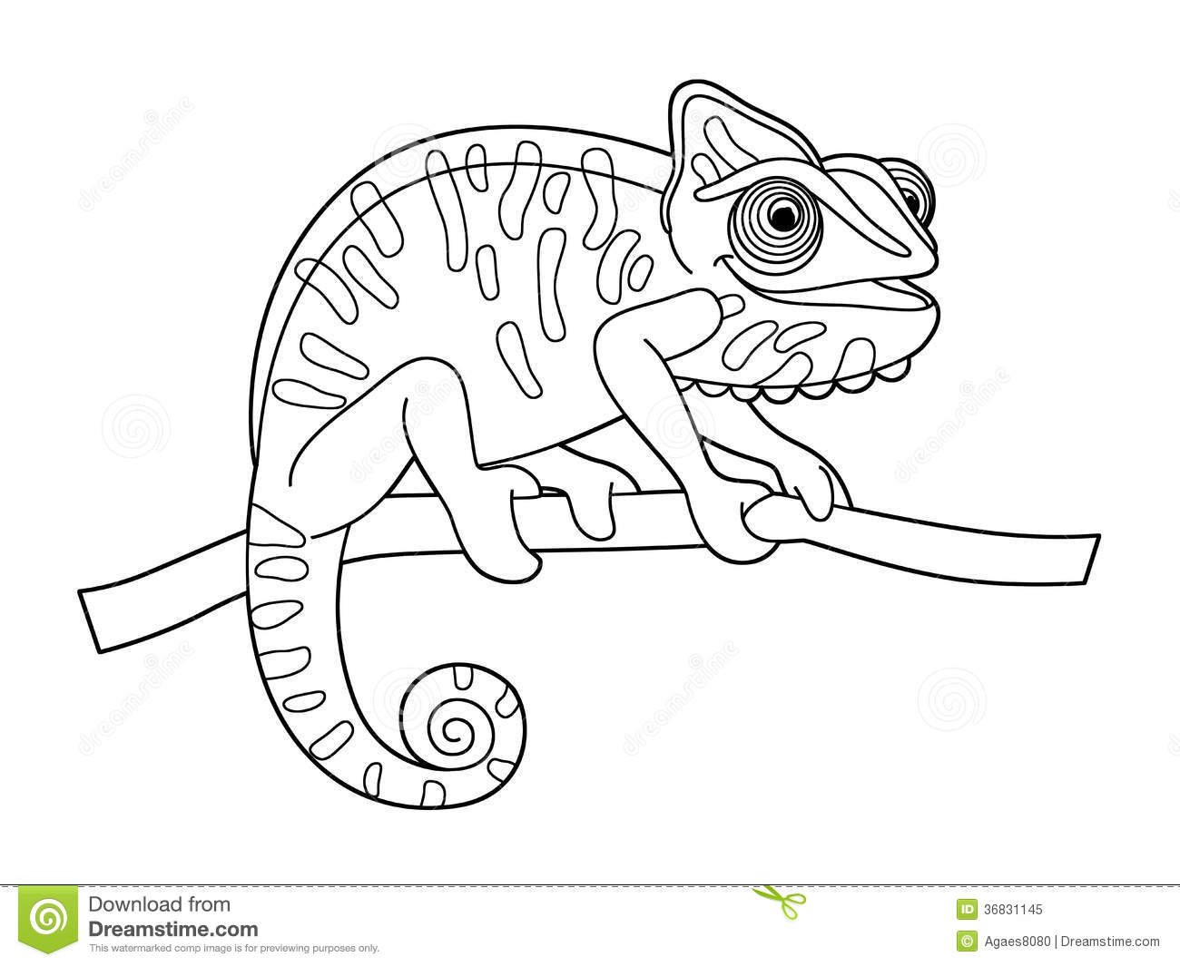 cartoon animal coloring page beautiful children
