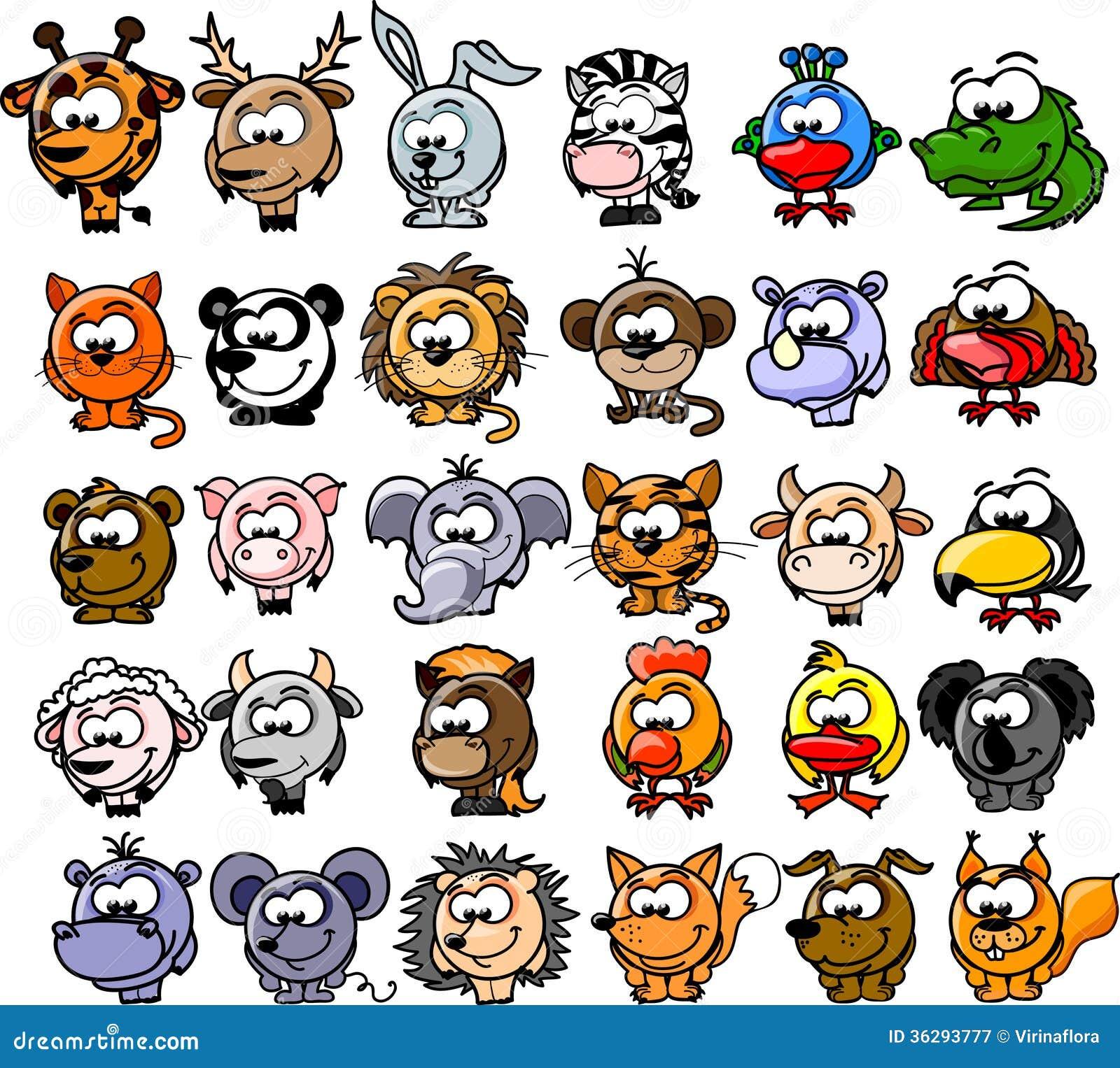 free clipart cartoon animals - photo #13