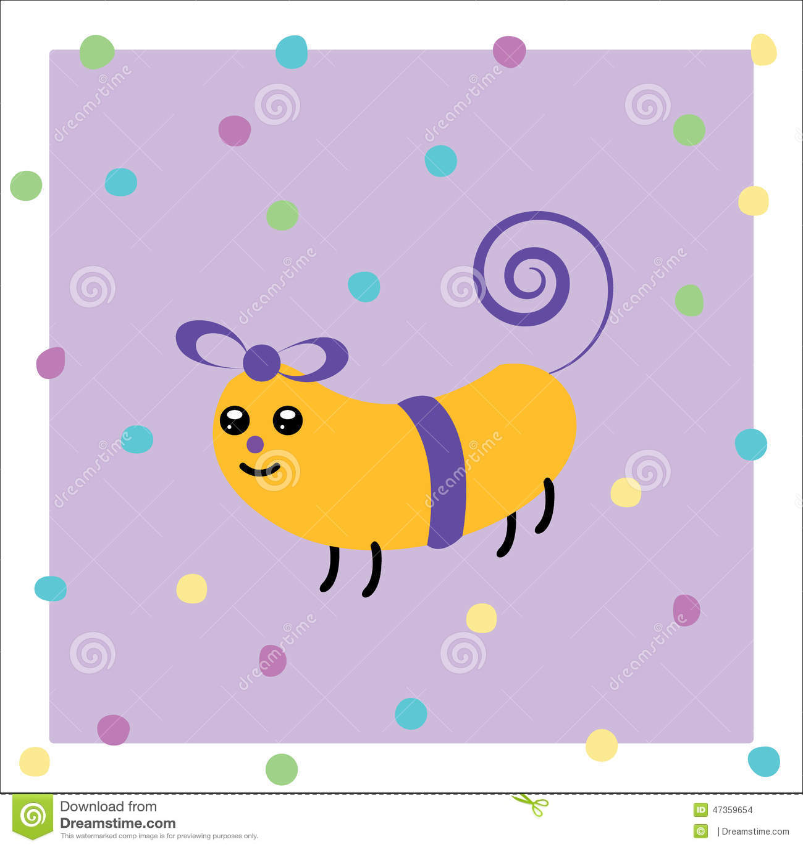 Cartoon Animated Gift Stock Vector Illustration Of Newsletter 47359654