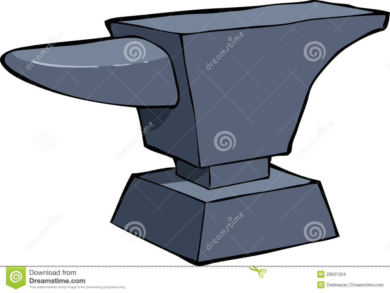 Cartoon Anvil Stock Images - Image: 29621324