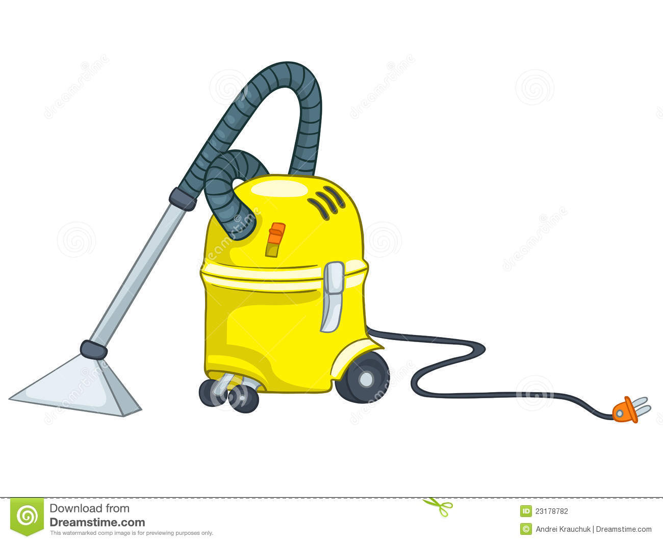 Cartoon Appliences Vacuum Stock Photography - Image: 23178782 Vacuum