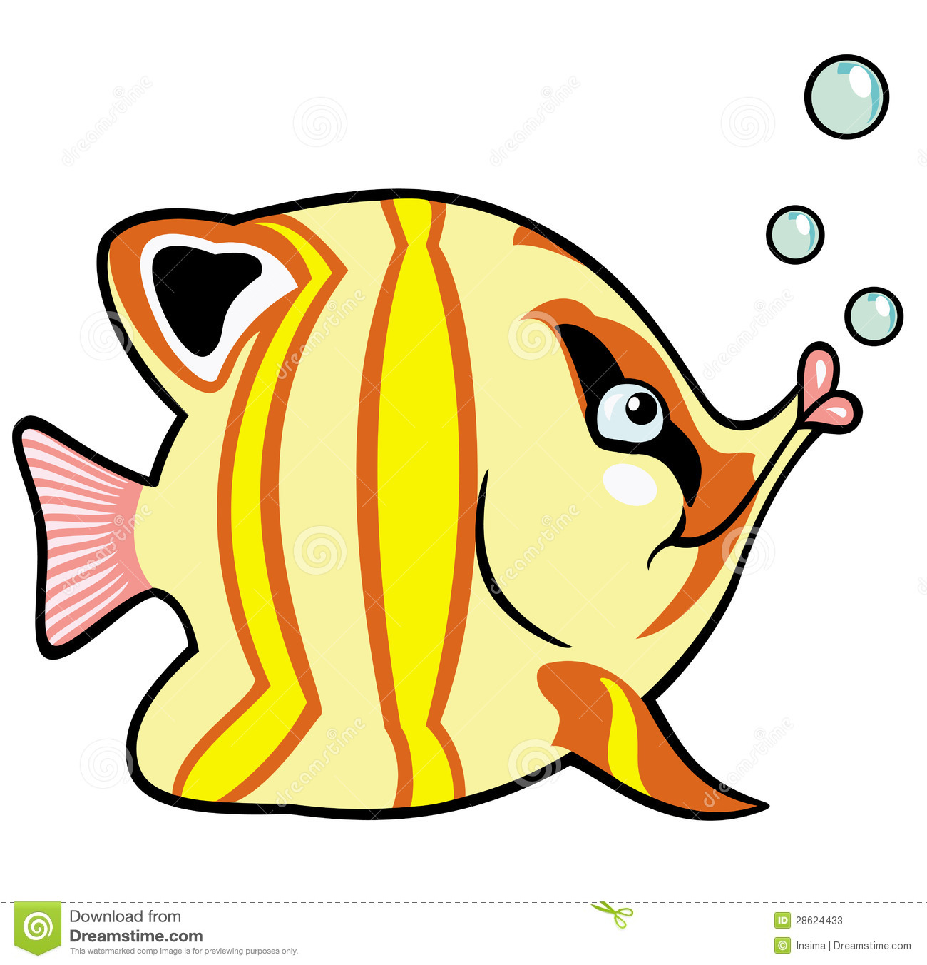 Tropical fish cartoon for Cartoon fish pictures