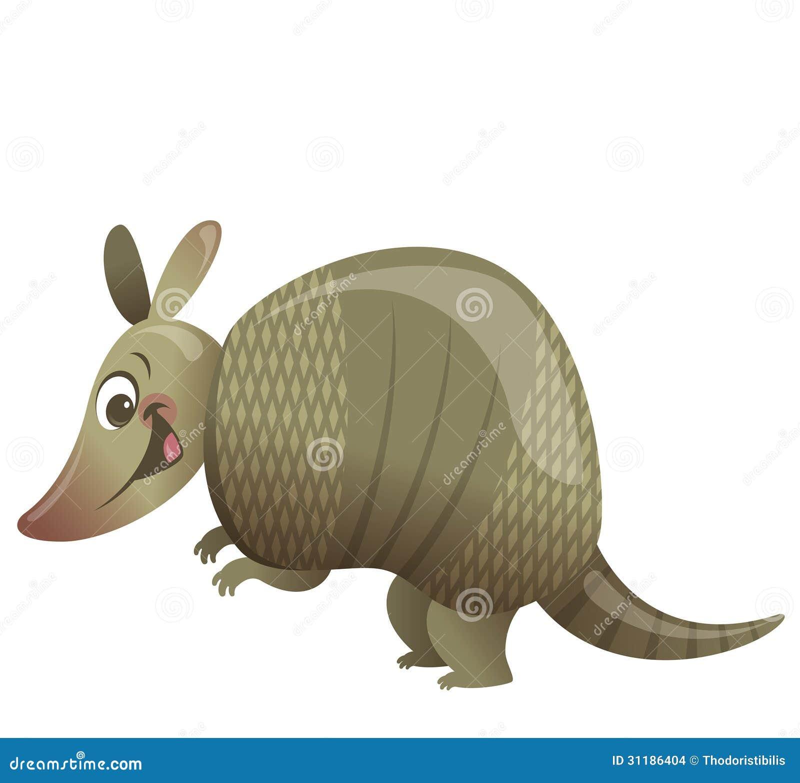 Cartoon Armadillo Animal Stock Images - Image: 31186404