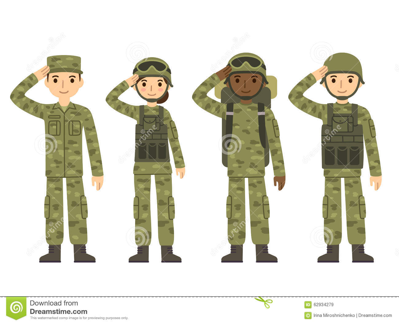 Army Cartoons, Illustrations & Vector Stock Images