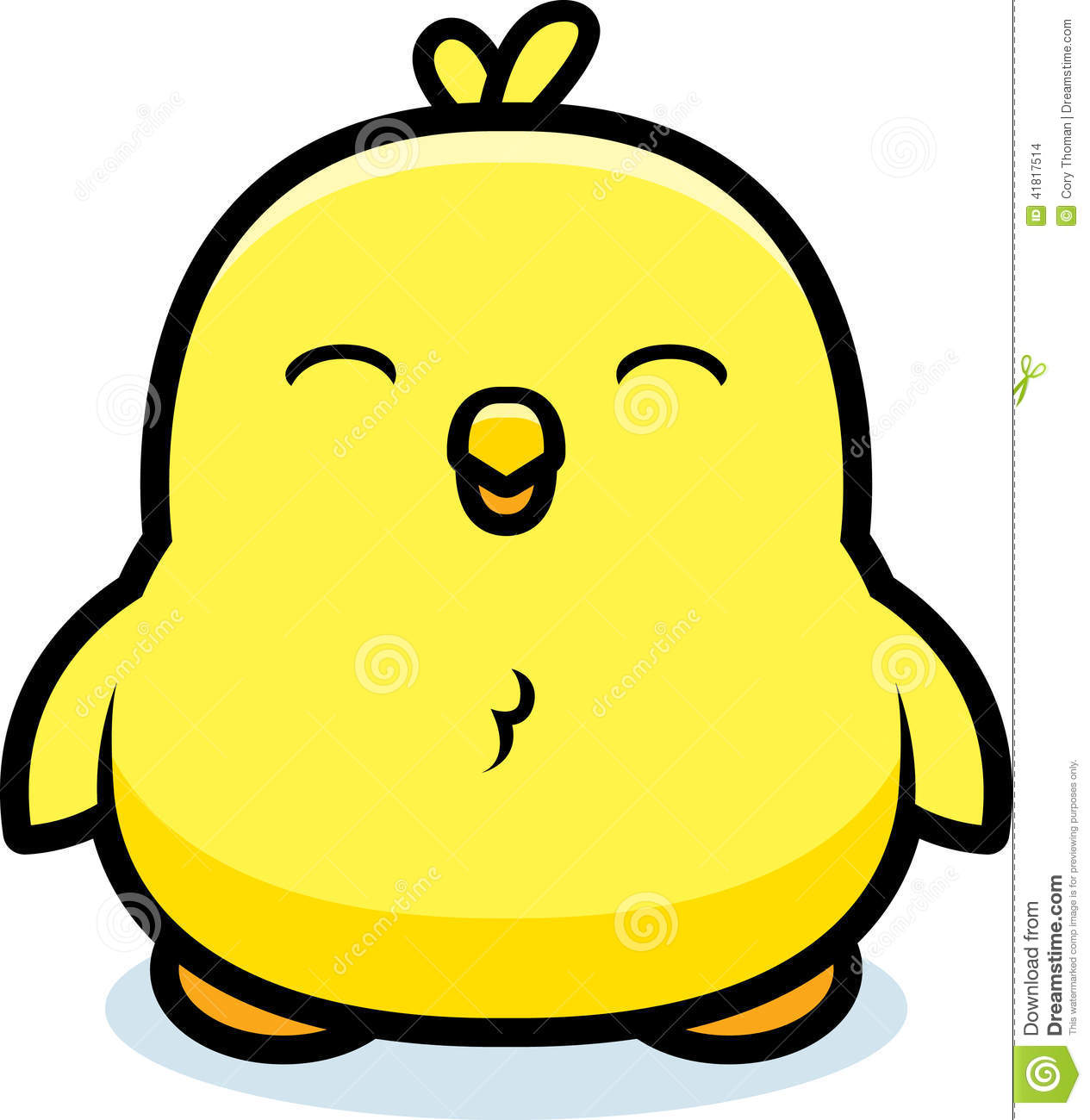 Cartoon Baby Chick Stock Vector - Image: 41817514