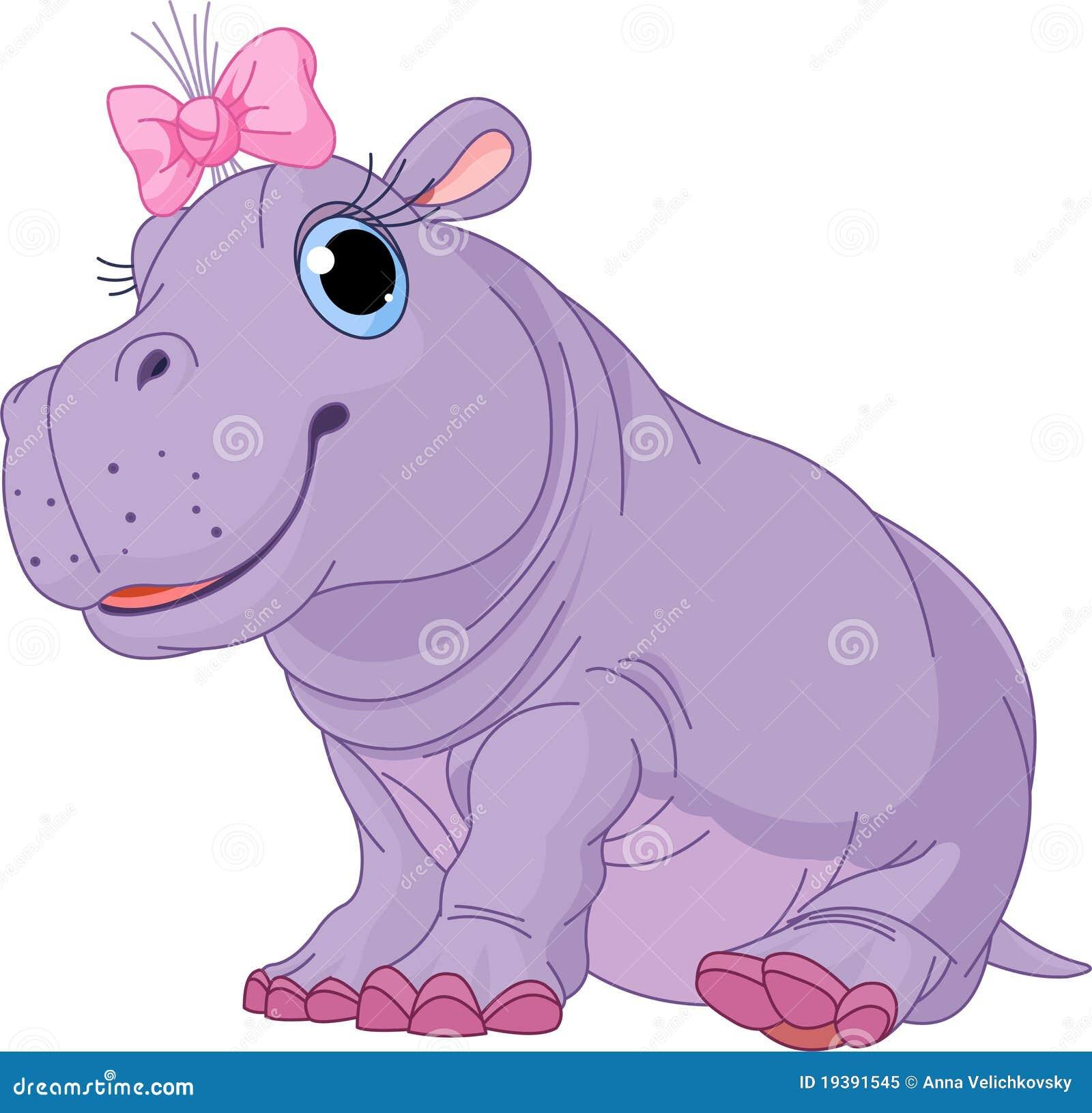 Baby hippo cartoon pixshark images galleries