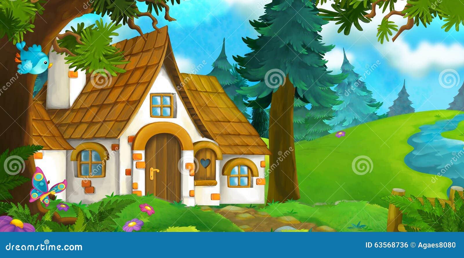 House Cartoon Background Www Pixshark Com Images