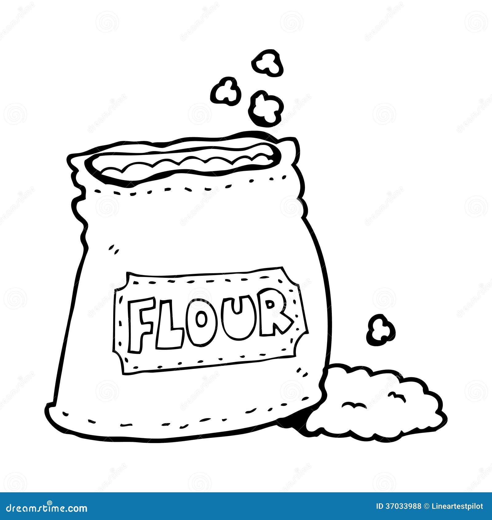 Cartoon Bag Of Flour R...