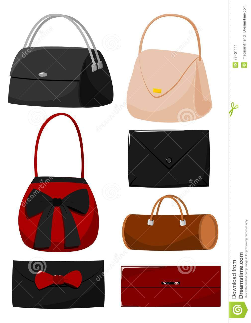 Cartoon Bags Stock Image - Image: 33401111