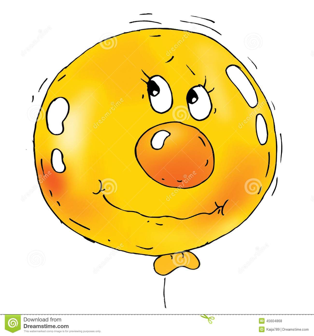 Funny balloon faces - Cartoon Balloon Faces Royalty Free Stock Photos