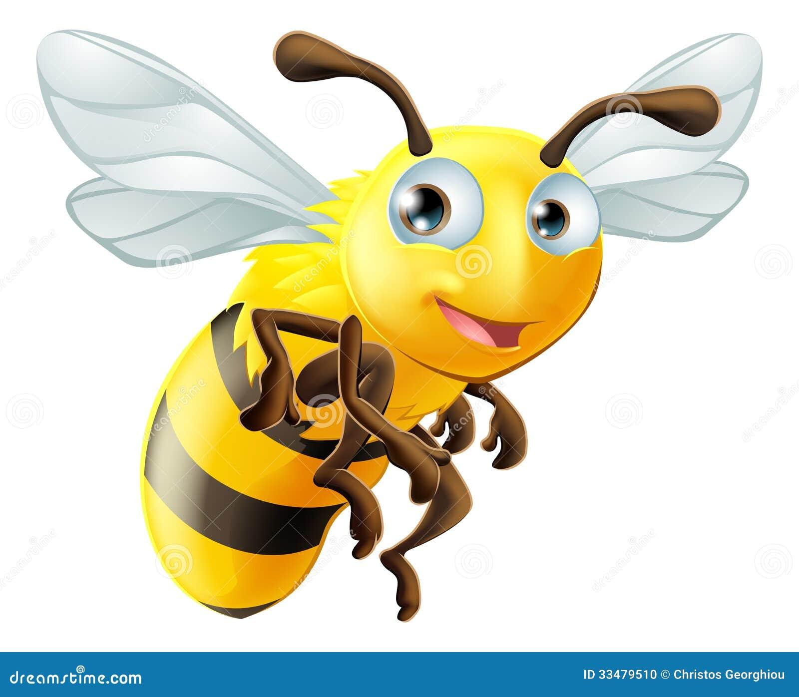 Cartoon Bee Stock Photo - Image: 33479510