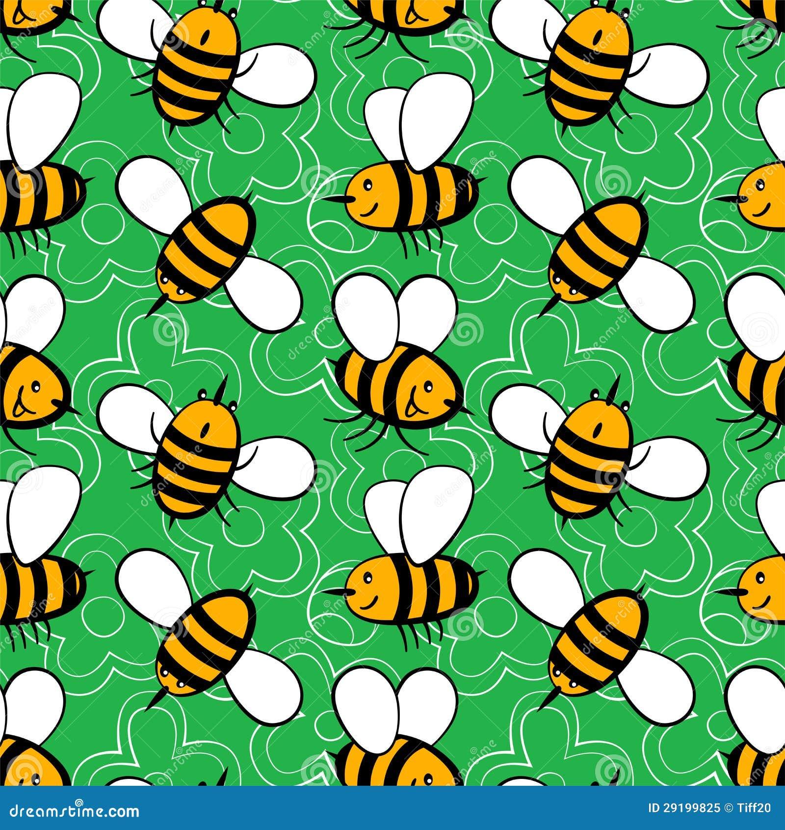 Cartoon Bees Royalty Free Stock Photo Image 29199825