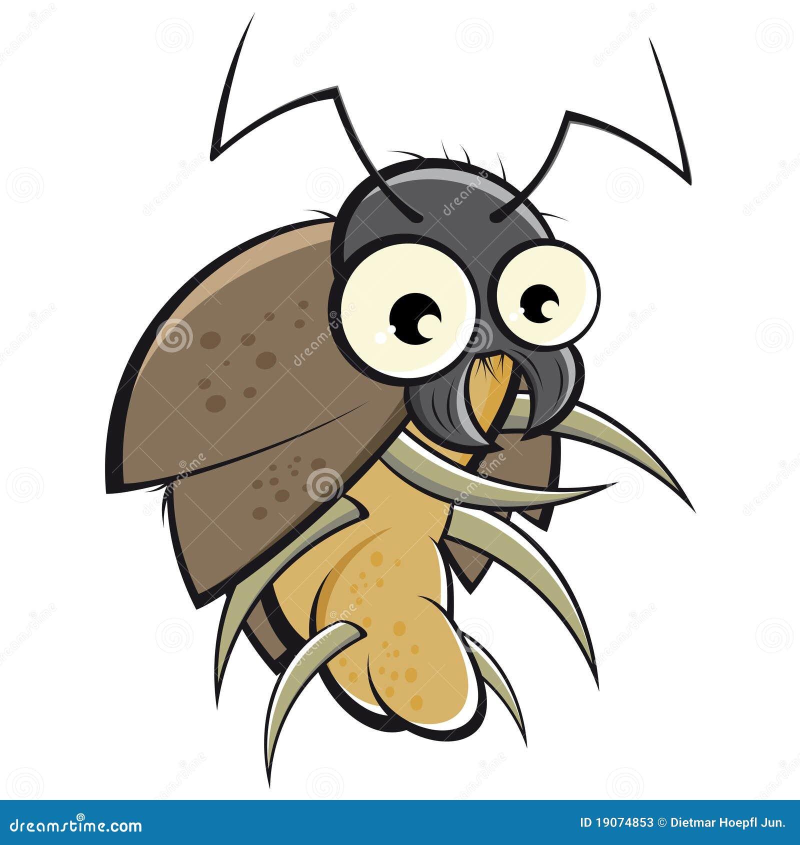 Cartoon Beetle stock vector  Illustration of clipart - 19074853