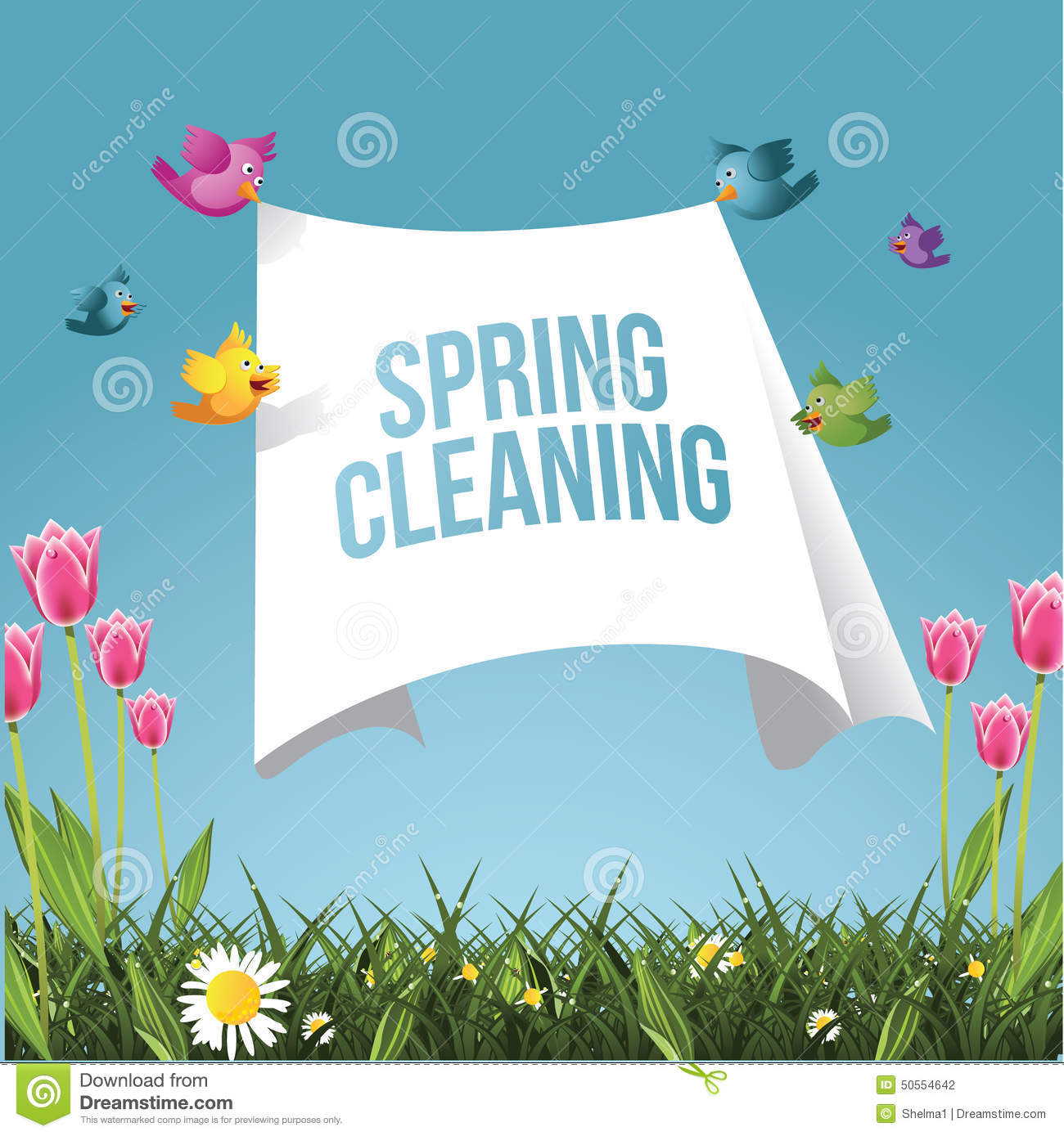 Spring Cleaning Ad