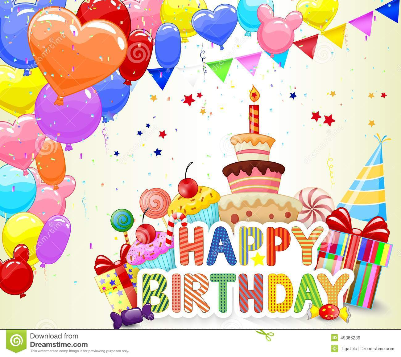 Birthday Cake Cartoon Stock Illustrations 40 334 Birthday Cake Cartoon Stock Illustrations Vectors Clipart Dreamstime