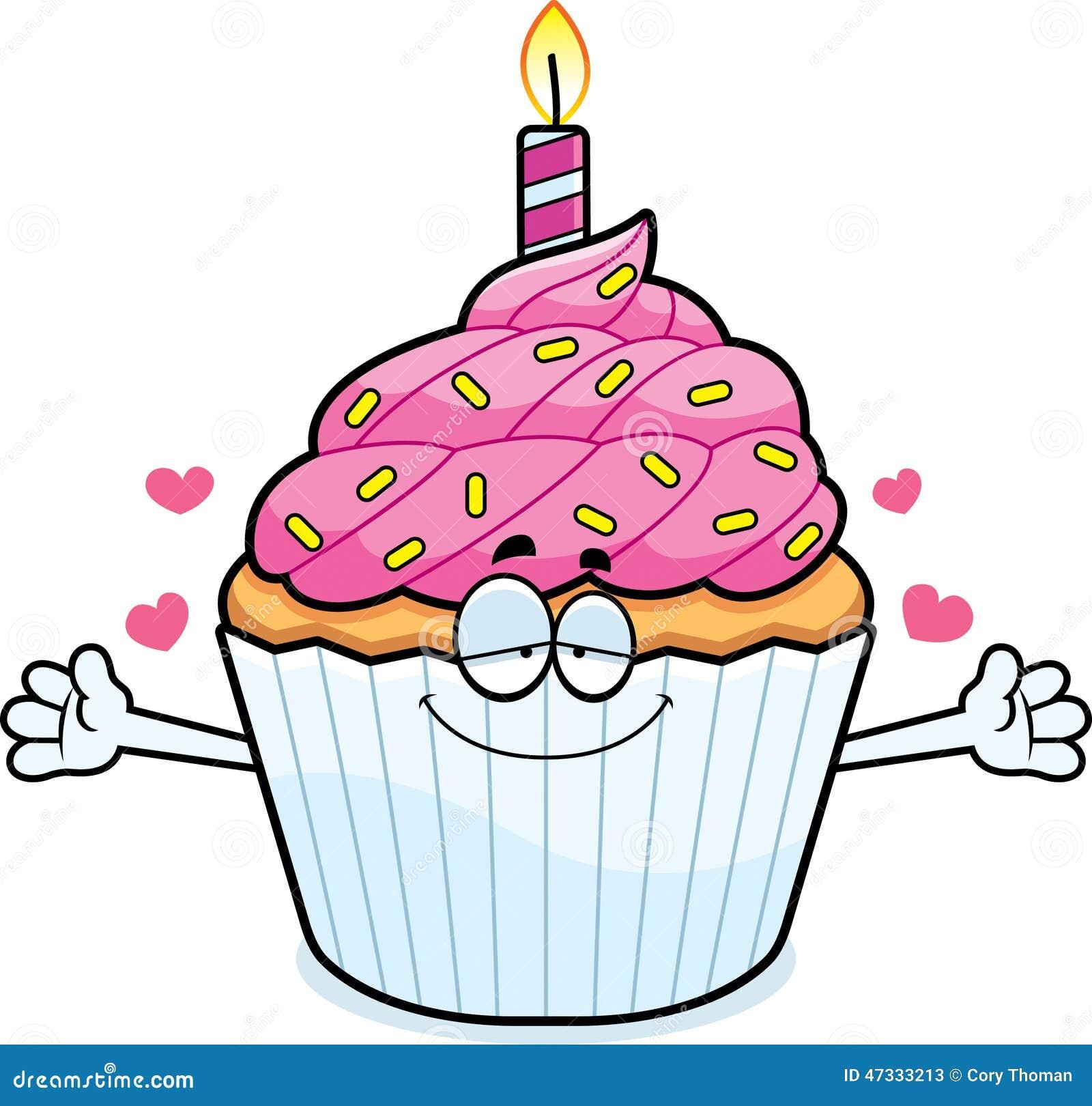 cartoon birthday cupcake hug stock vector illustration clip art flames free flamenco clipart