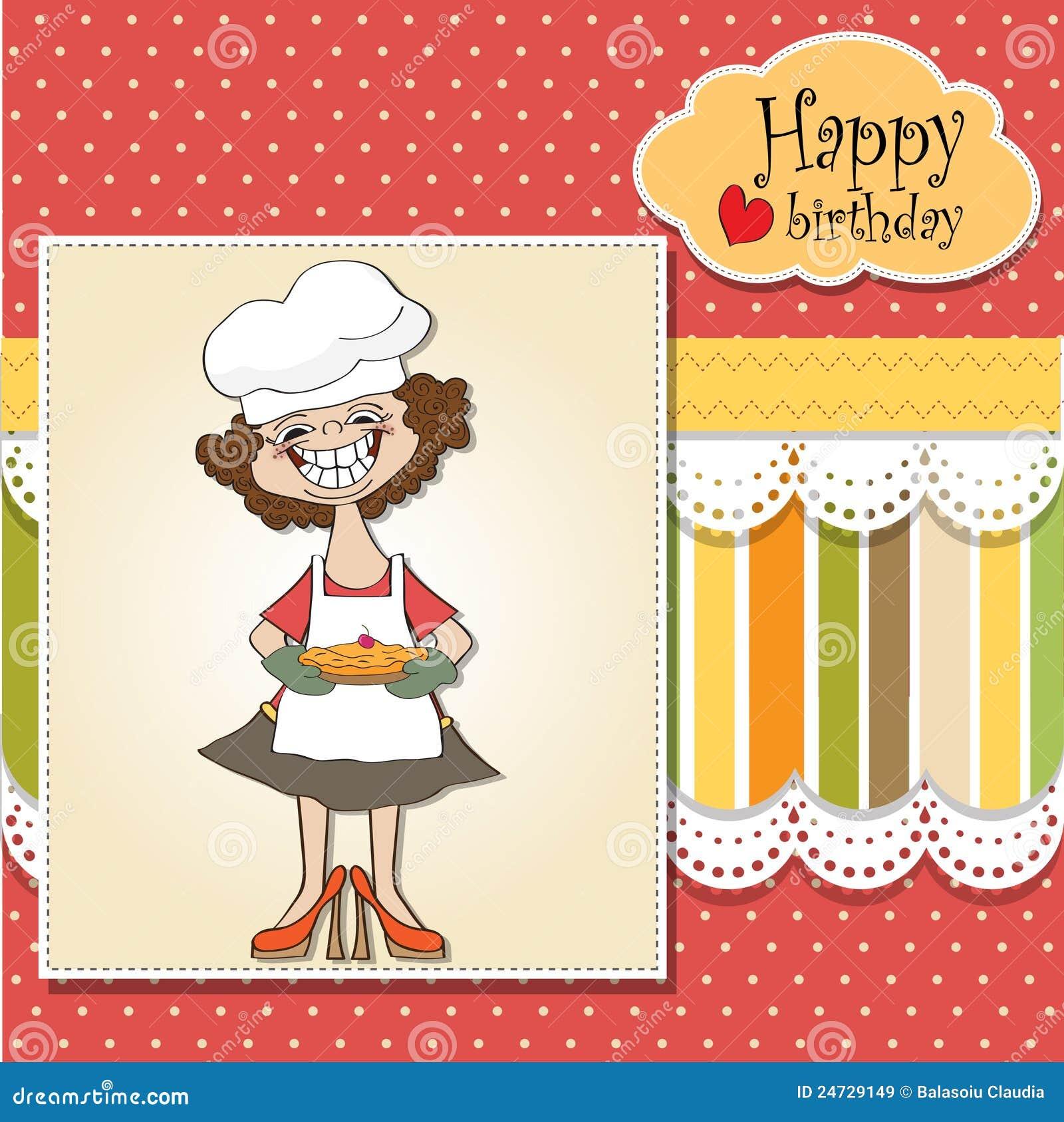 Cartoon Birthday Greeting Card Royalty Free Images Image – Birthday Cards Cartoons