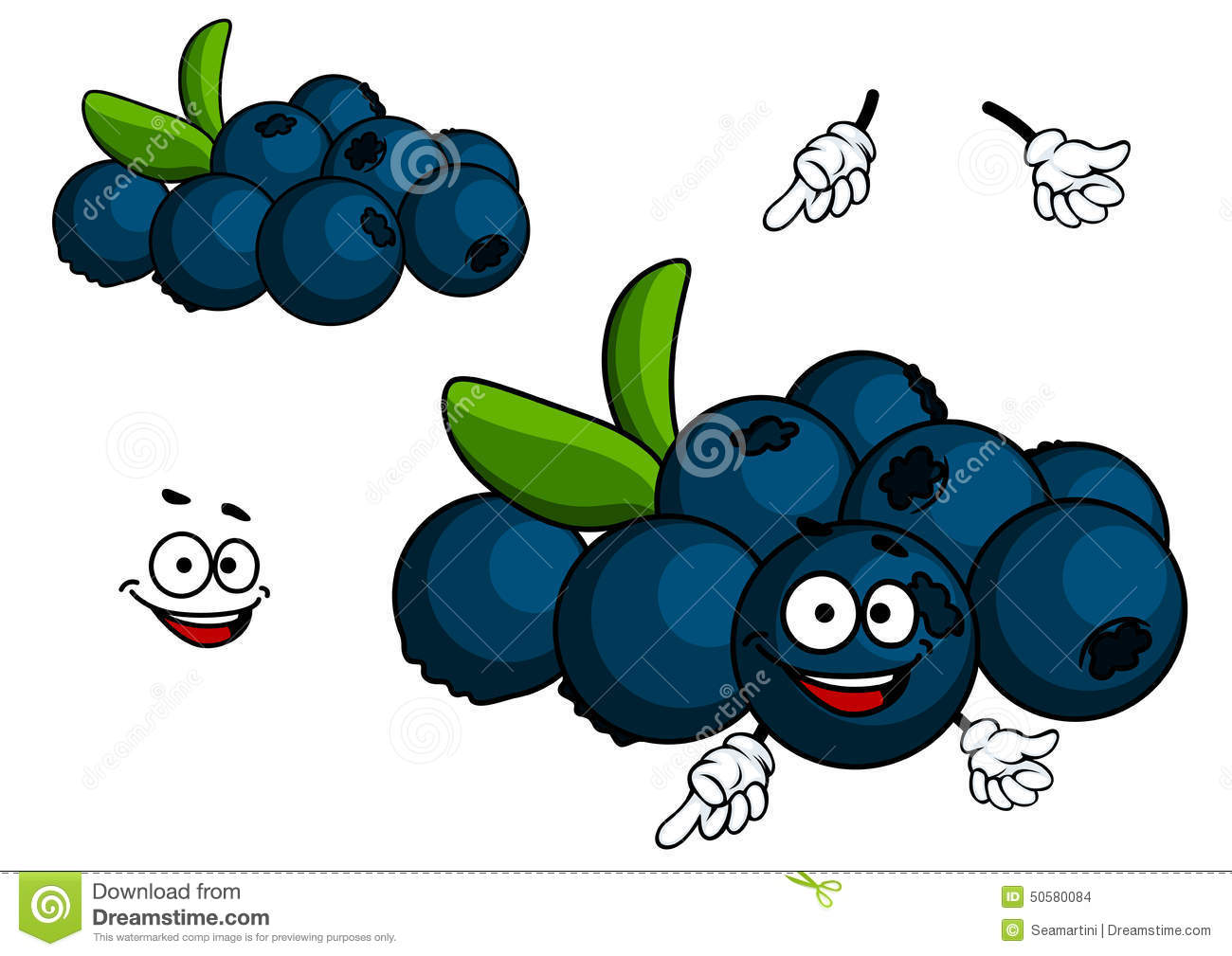 Cartoon Blueberries | www.pixshark.com - Images Galleries ...