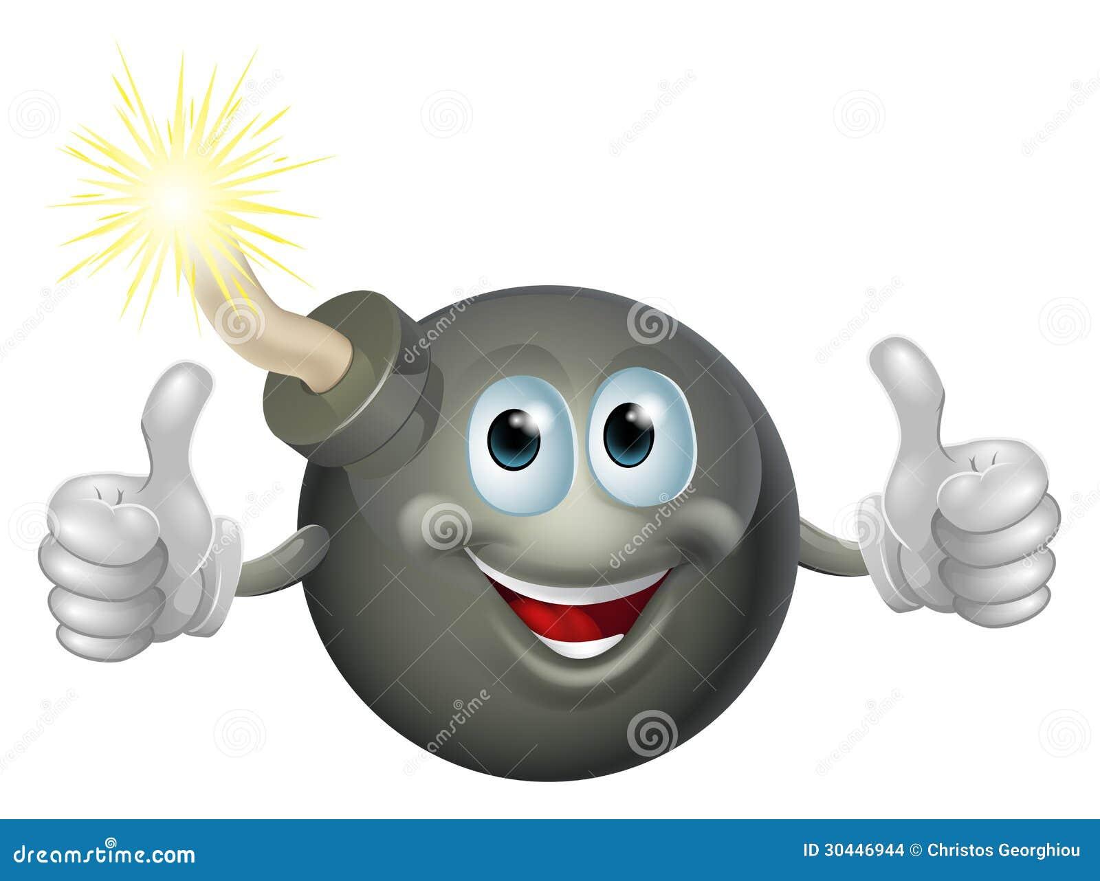 cartoon bomb man stock images image 30446944