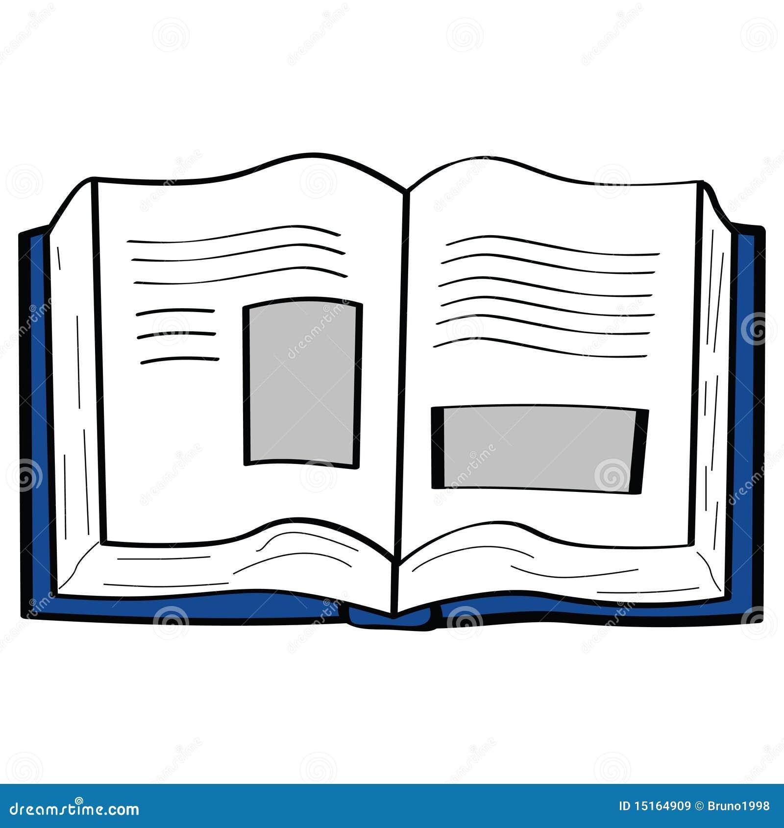 cartoon open het books boek fumetto libro beeldverhaal vector shutterstock
