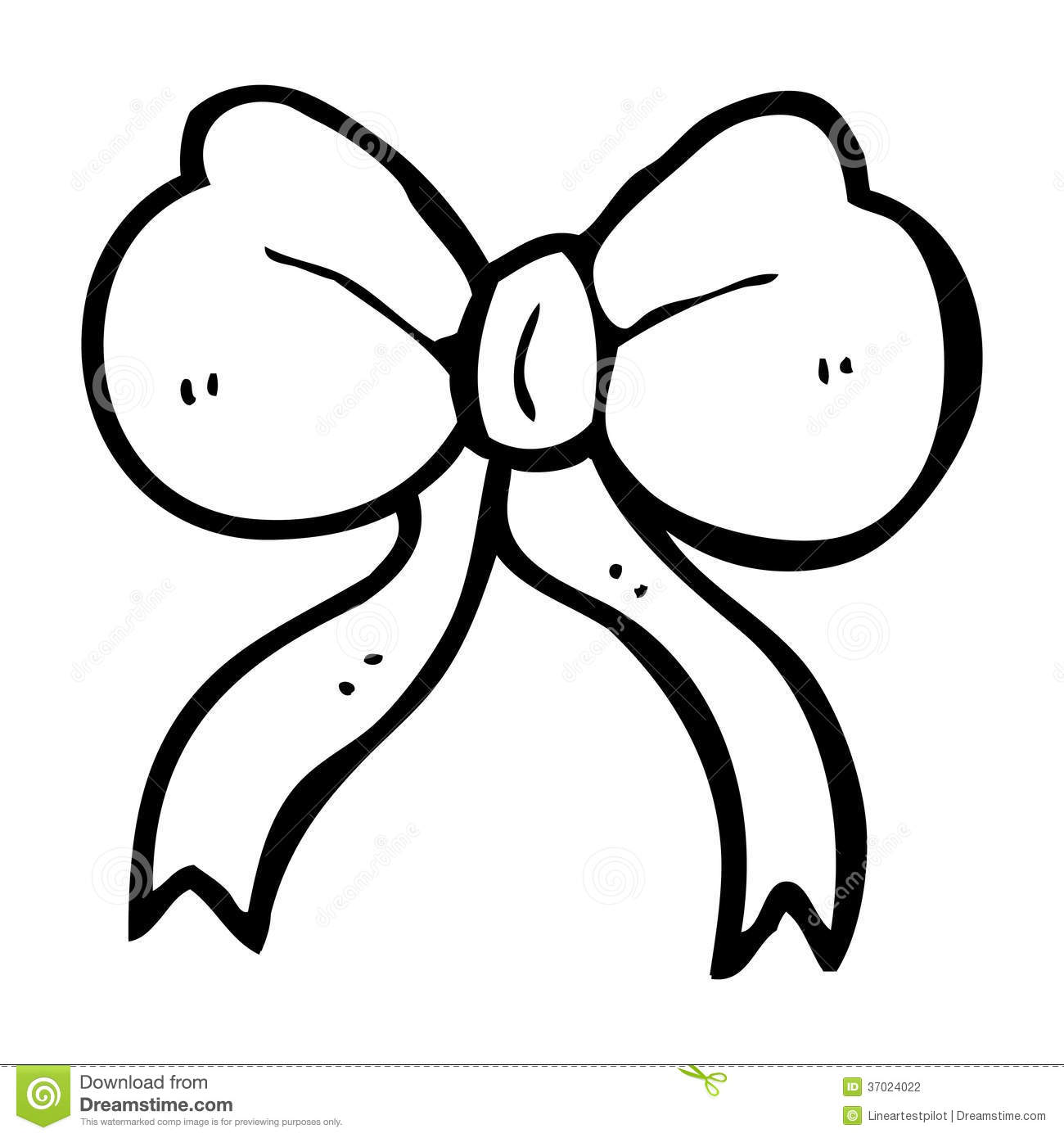 cartoon bow tie stock illustration image of illustration