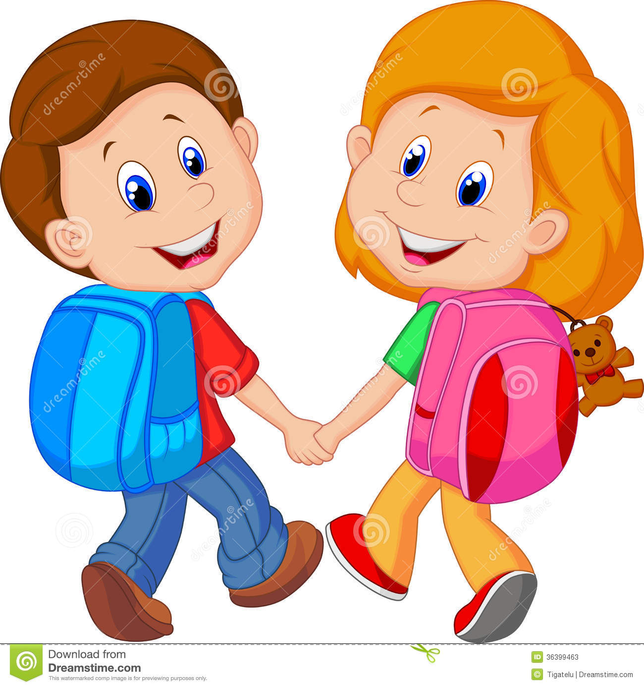 cartoon boy and girl with backpacks stock photos image boy reading clipart images boy reading clipart black and white
