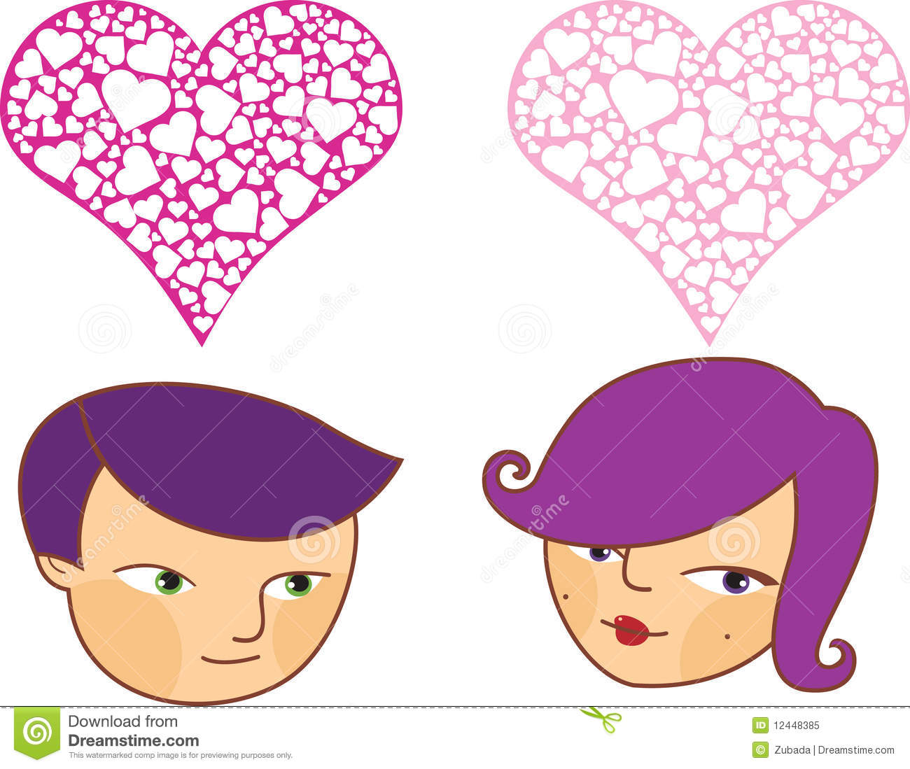cartoon Boy And Girl Love Images Wallpaper sportstle