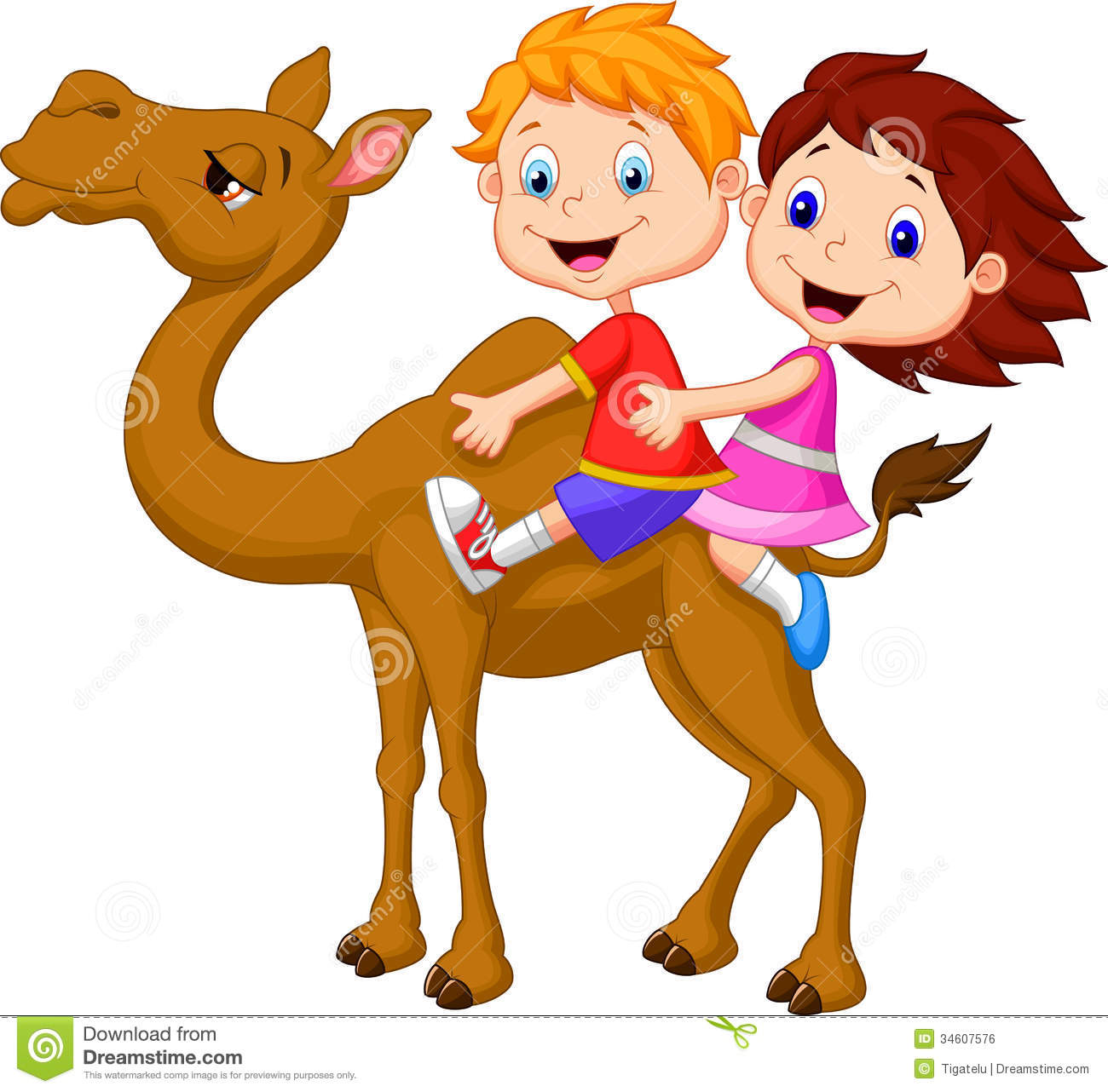 Horse And Kid Clip Art