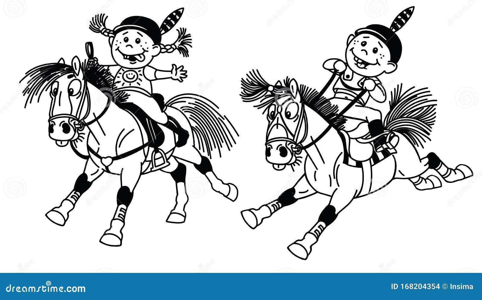 Cartoon Little Girl Riding Pony Horse Stock Illustrations 98 Cartoon Little Girl Riding Pony Horse Stock Illustrations Vectors Clipart Dreamstime
