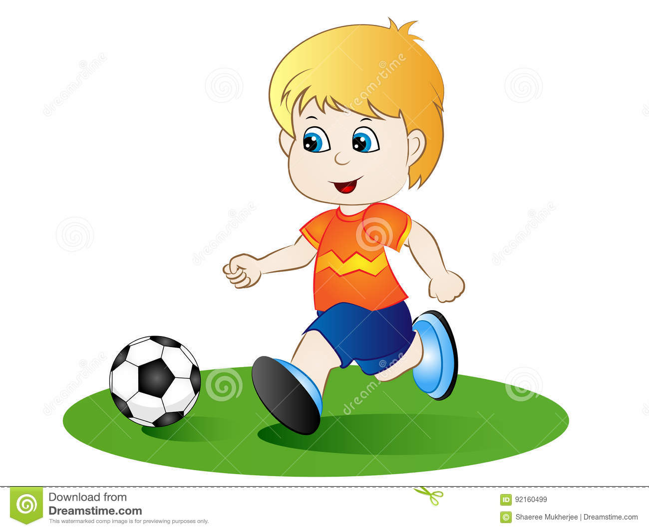 Cartoon Boy Playing Football Stock Illustrations 2 784 Cartoon Boy Playing Football Stock Illustrations Vectors Clipart Dreamstime