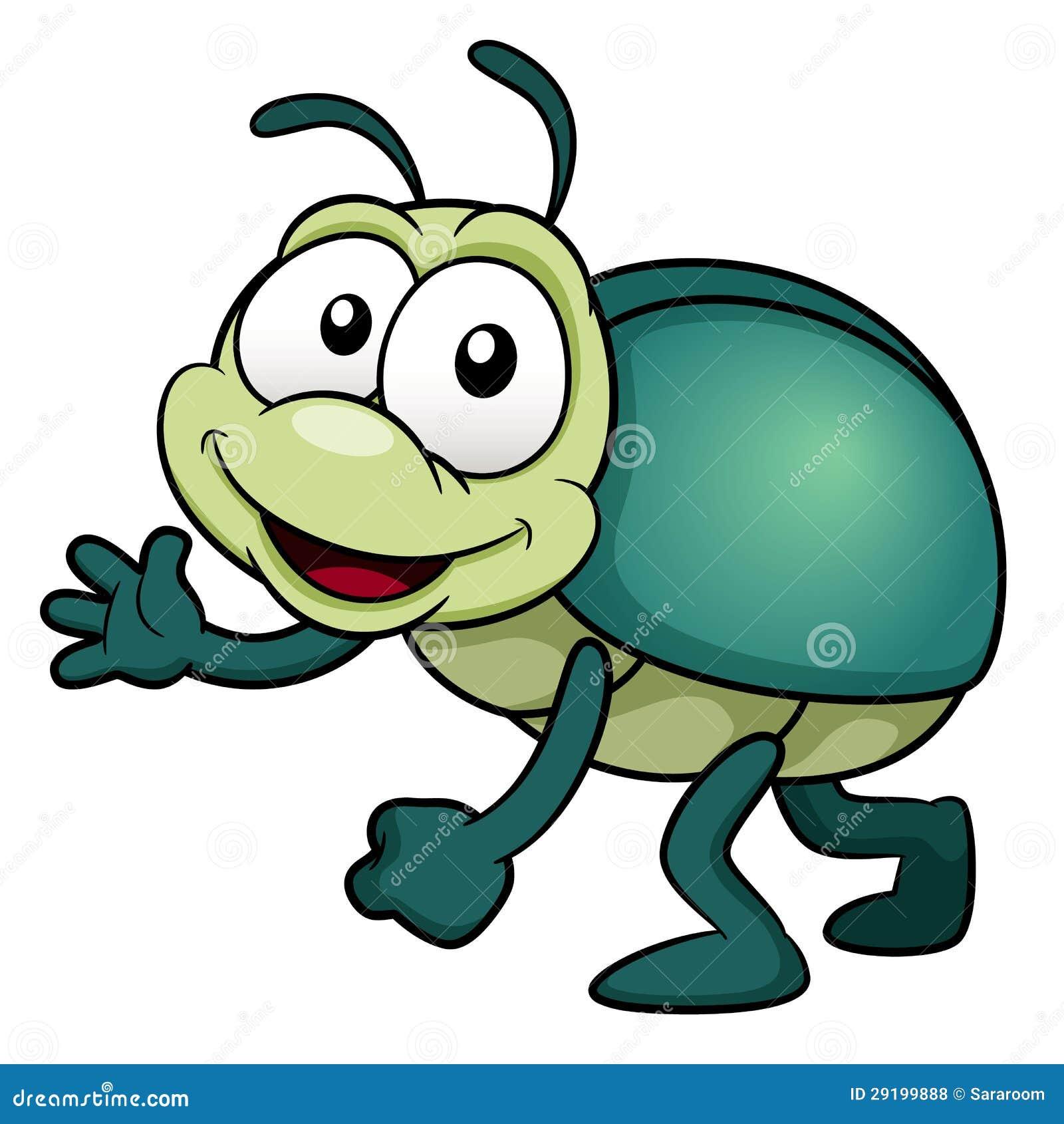 Рисунки смешных жуков
