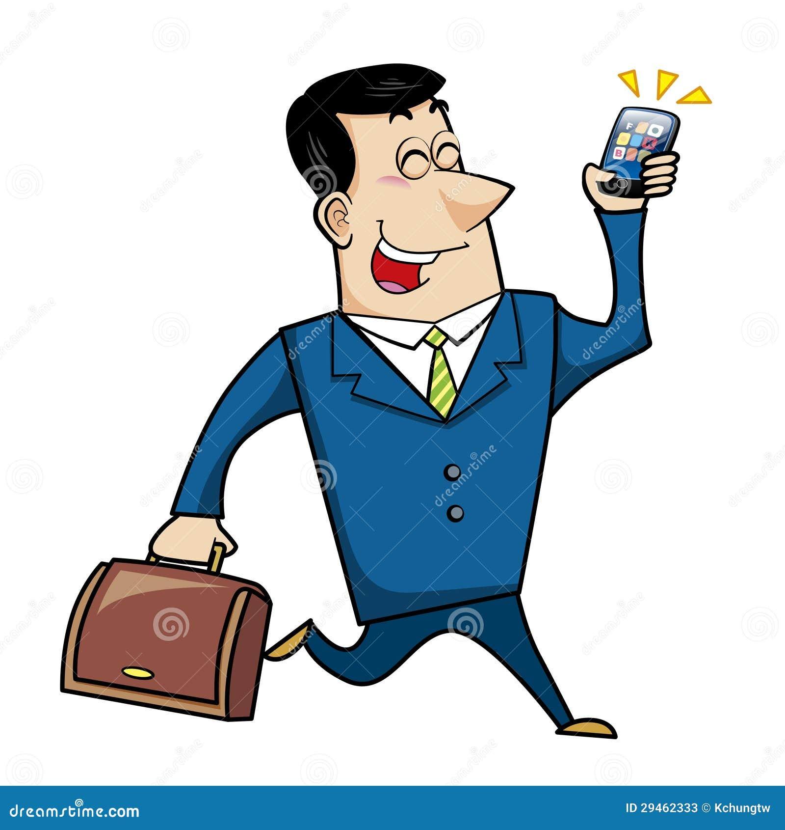 Cartoon Business Man Stock Photos - Image: 29462333