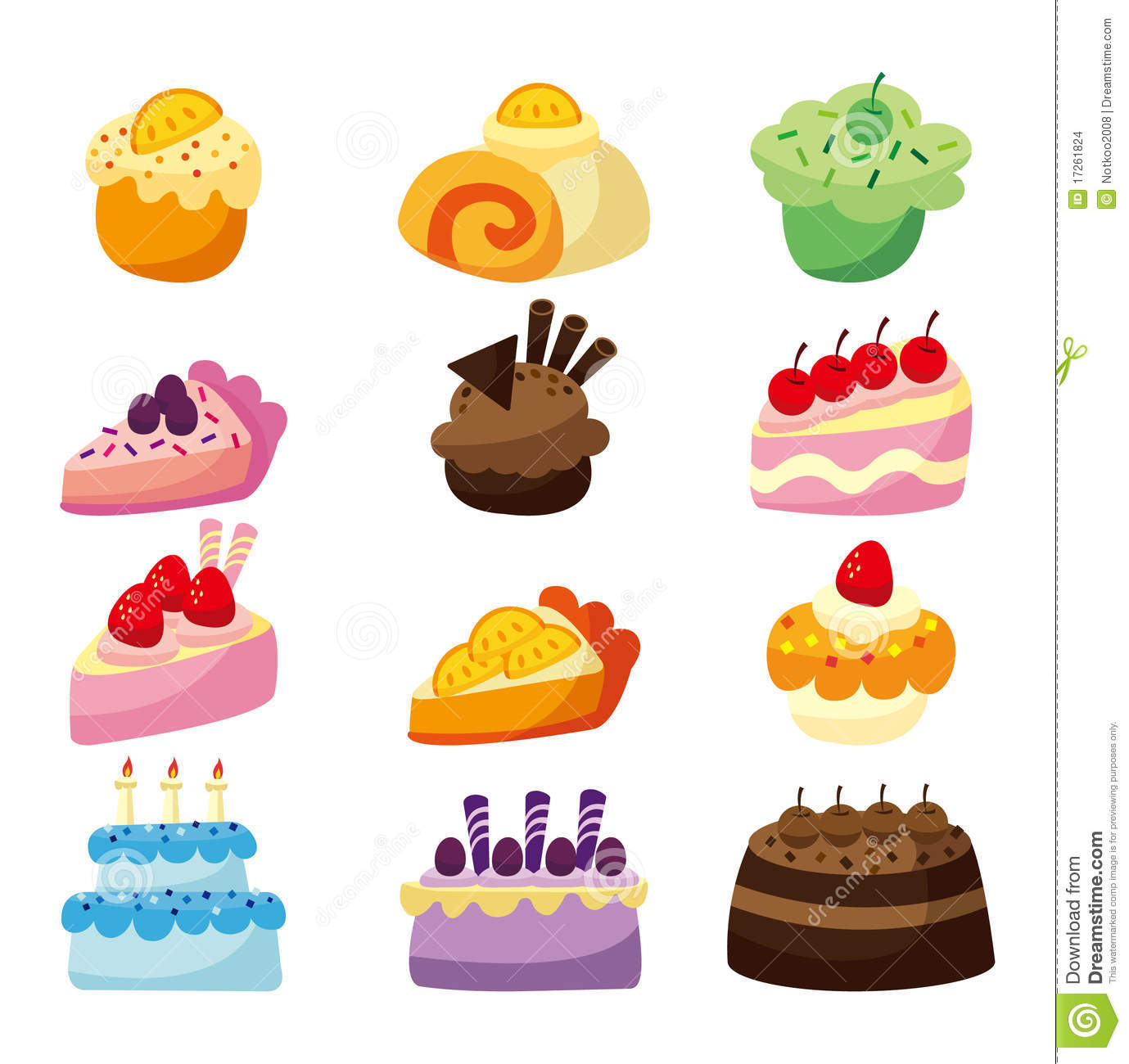 Birthday Cake Illustration Tumblr