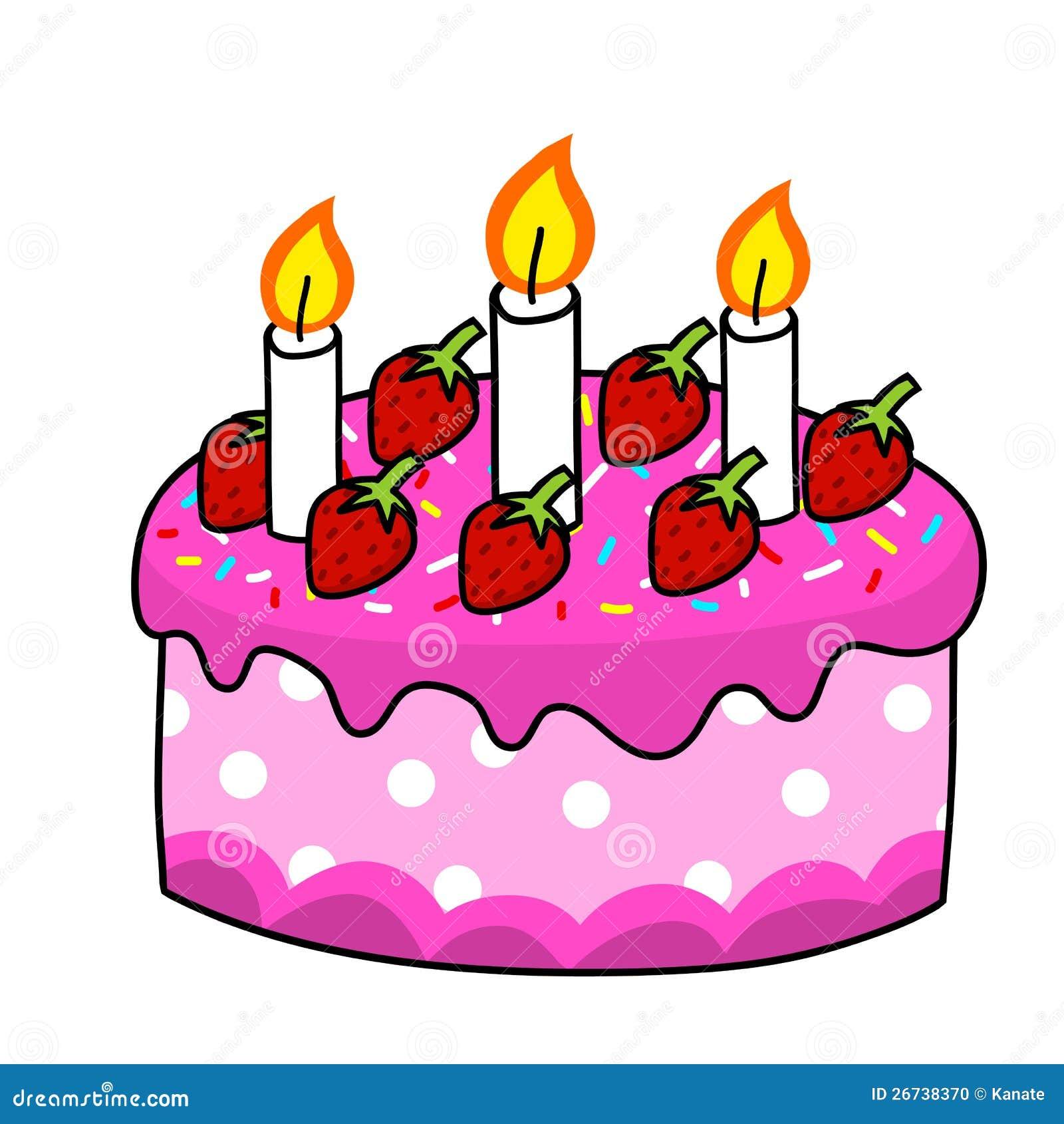 cartoon cake hand drawing stock photo - image: 26738370