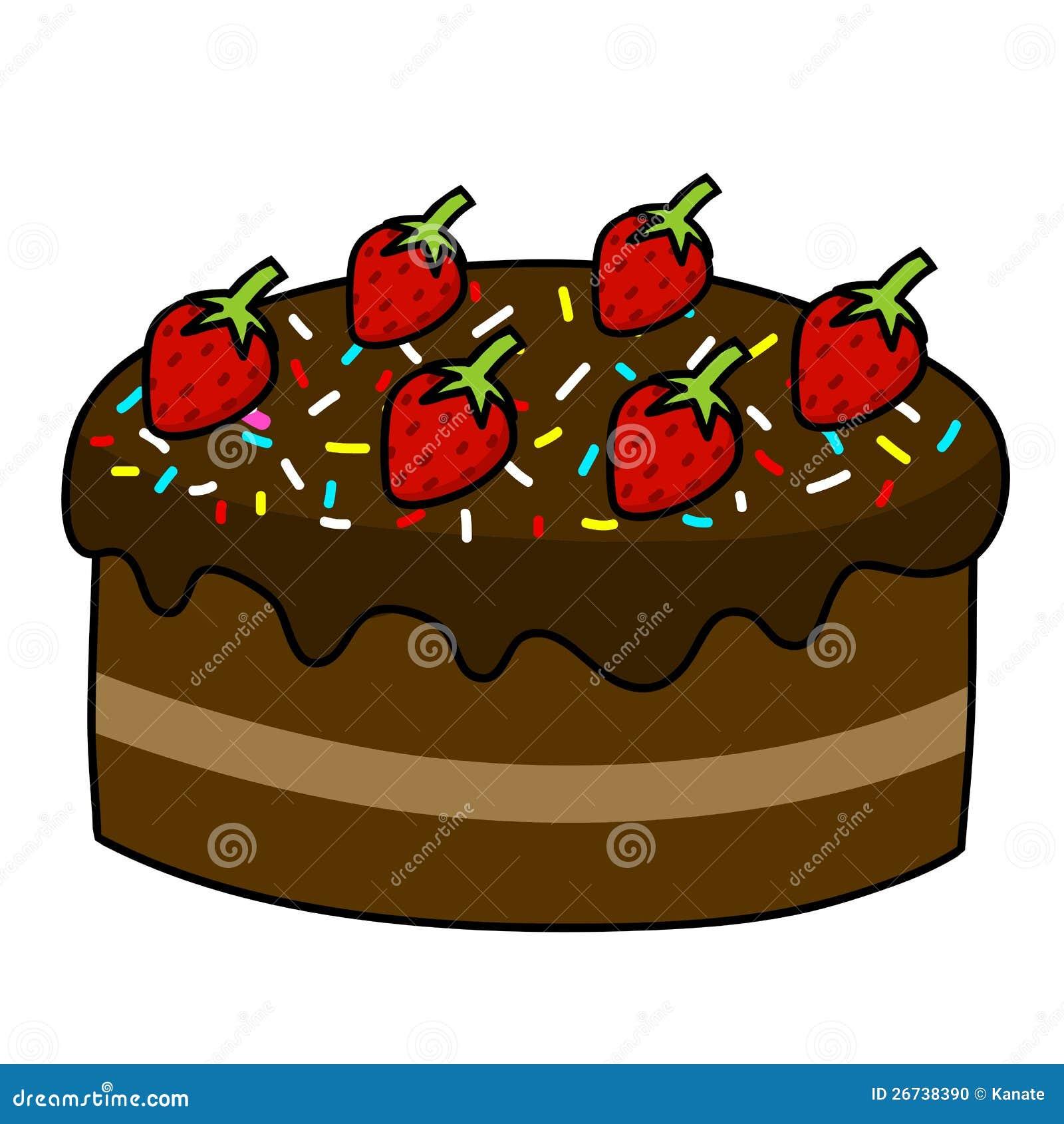 Cake Decoration Cartoon : Cartoon Cake Hand Drawing Stock Photo - Image: 26738390