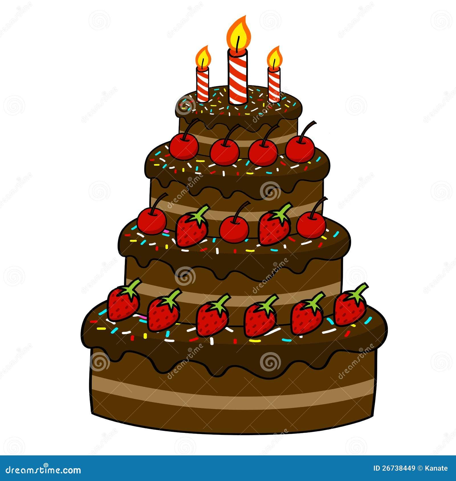Cake Decoration Cartoon : Cartoon cake hand drawing stock vector. Image of element ...