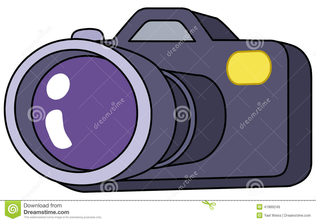 Cartoon Camera Stock Vector - Image: 41889249