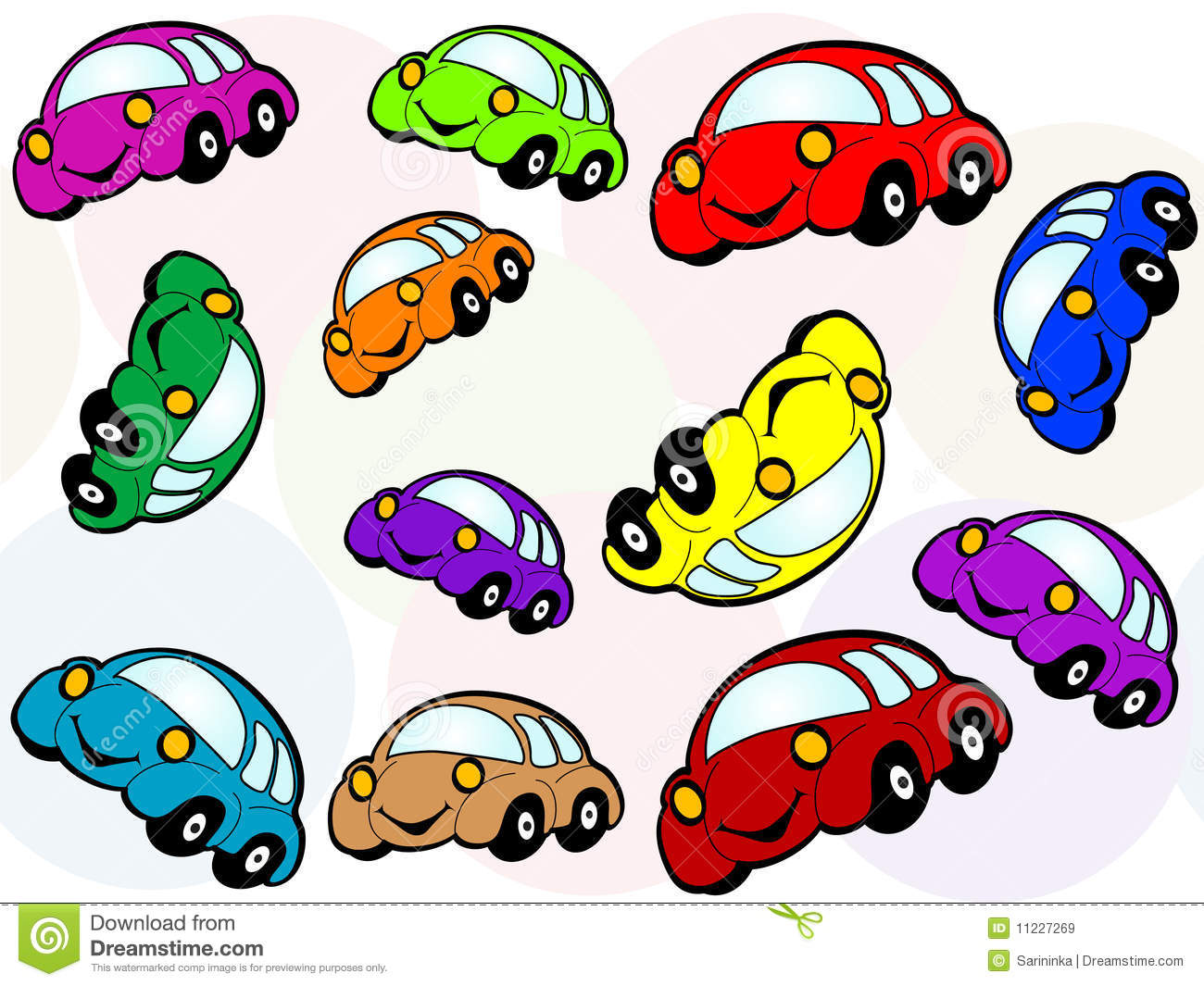 Cartoon Car Royalty Free Stock Images Image 11227269