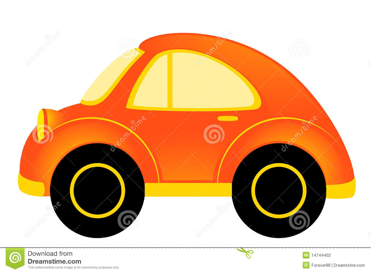 Cartoon Car Stock Photography - Image: 14744402
