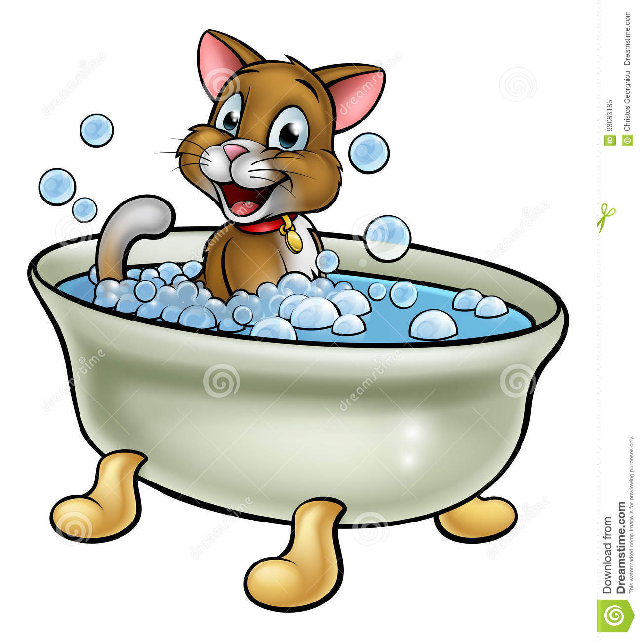 Bath Time Cartoons, Illustrations & Vector Stock Images ...