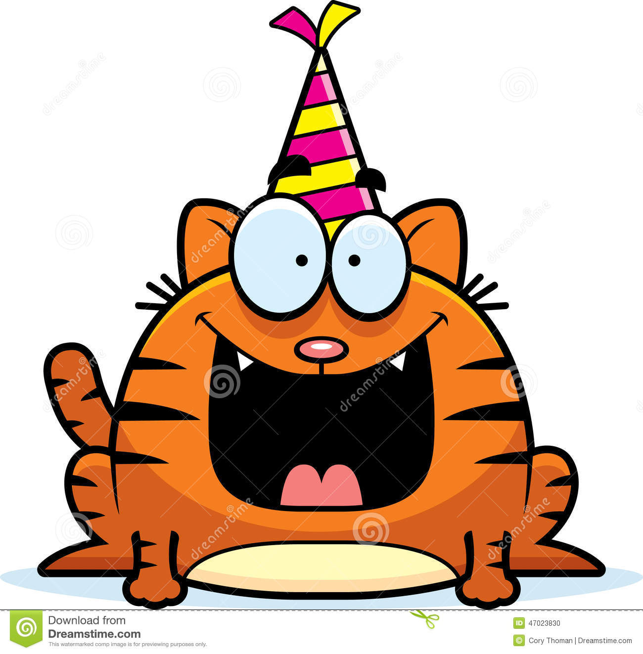 Cartoon Cat Birthday Party