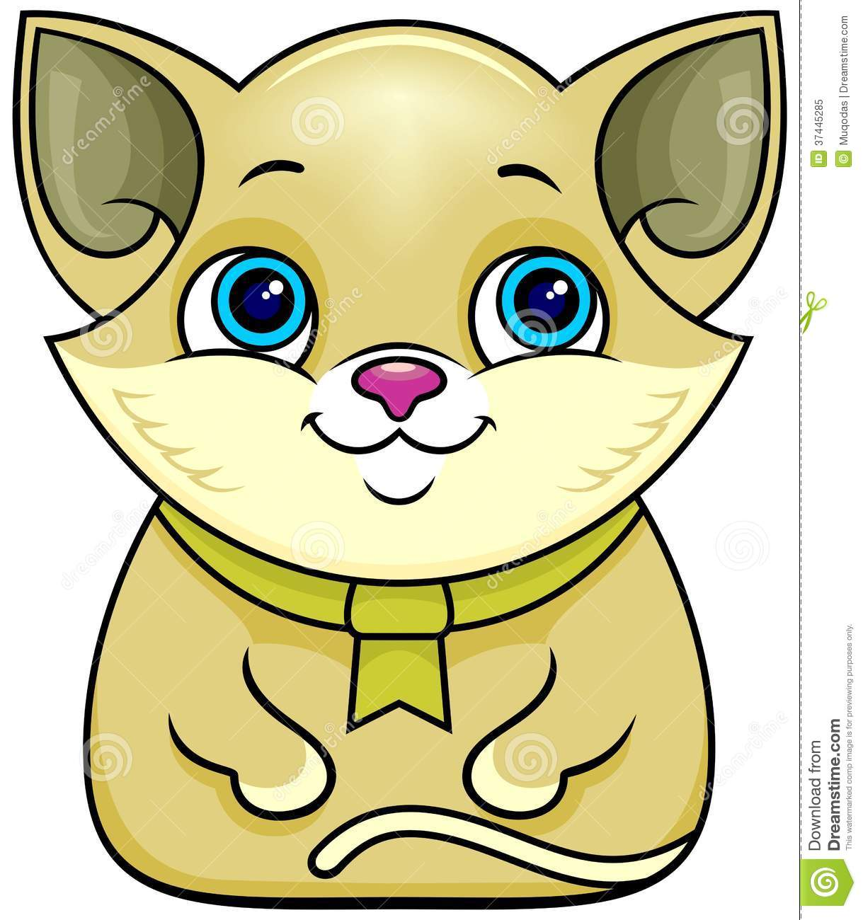 Cartoon cat stock vector. Image of animal, hilarious ...