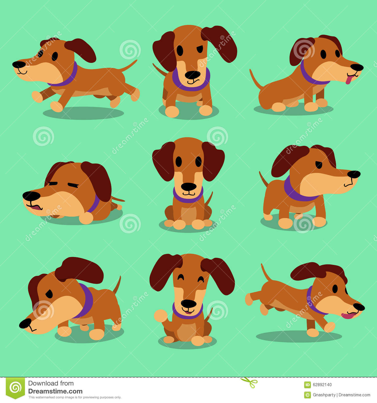 Tax: character, description and photo. Dachshund character - boy and girl 30