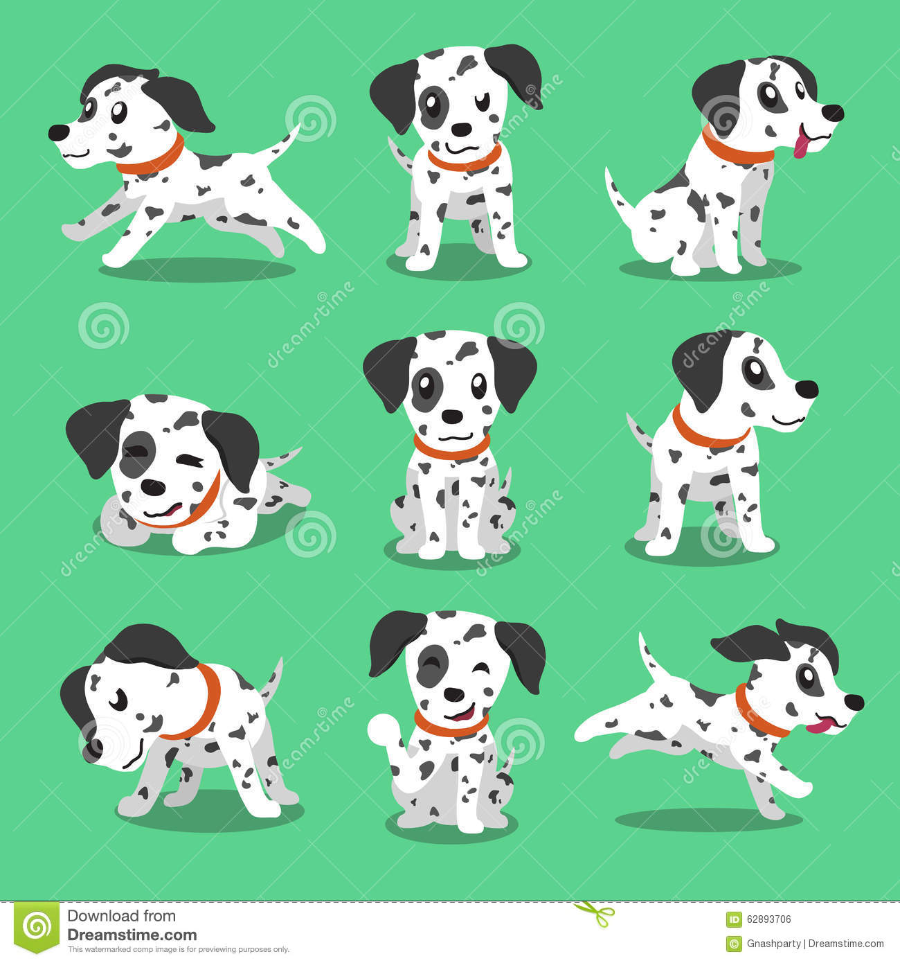 Cartoon Pictures Of Dalmatian Dogs