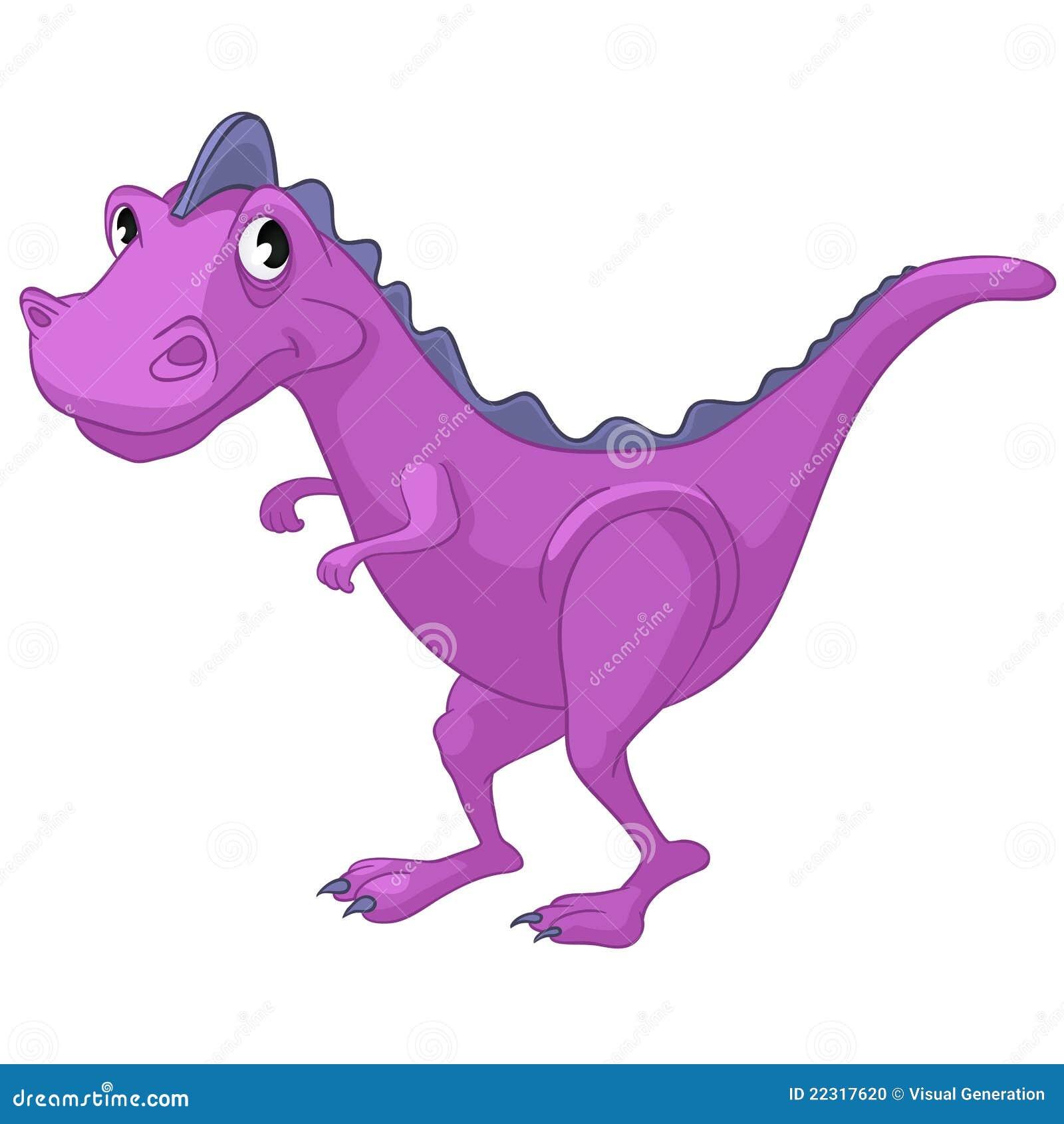 cartoon character dino stock photo   image 22317620