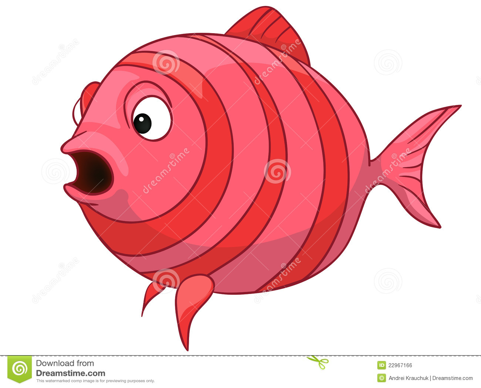 Cartoon Baby Fish