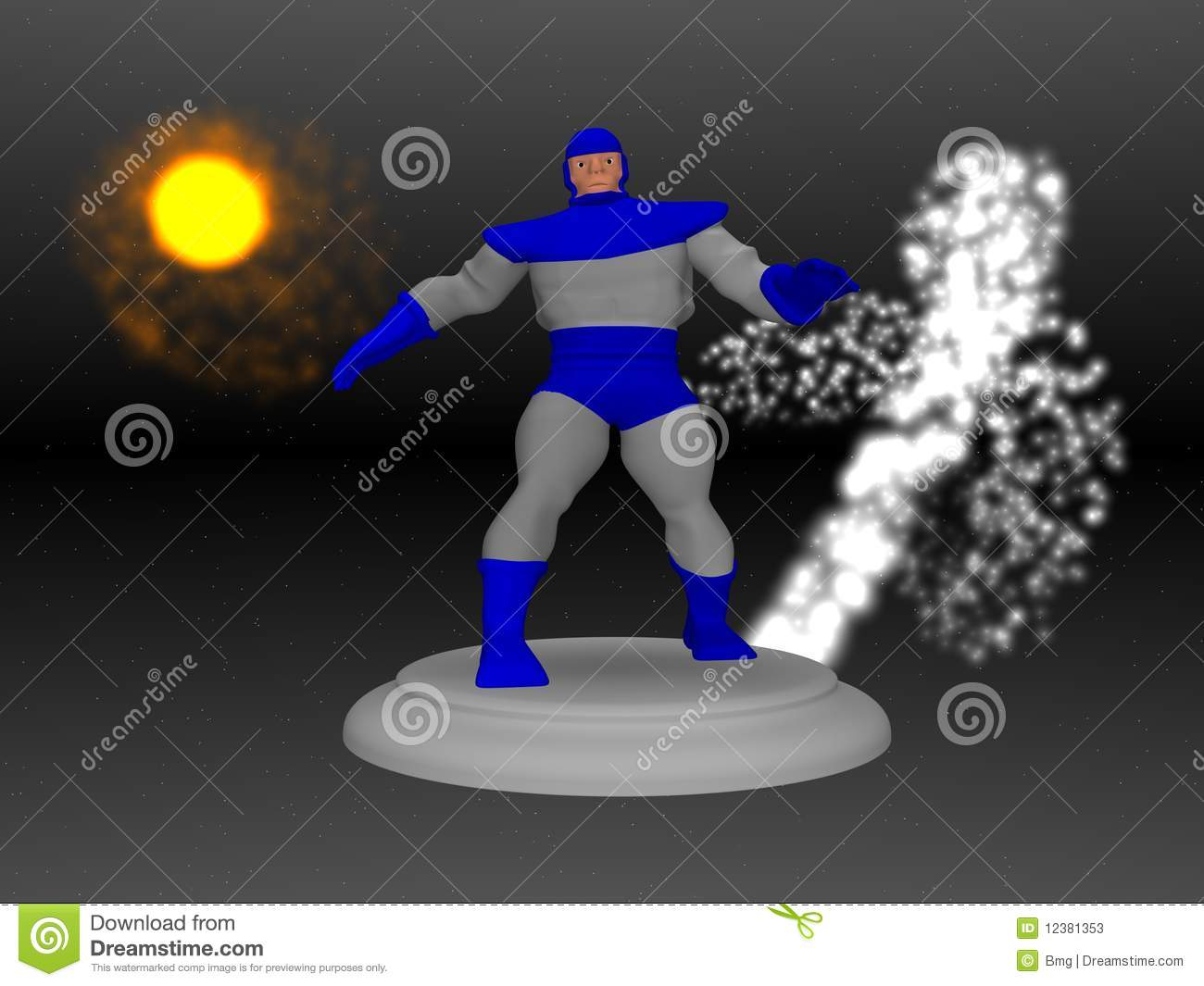 cartoon character space stock photos image 12381353